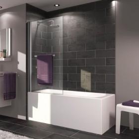 Шторка для ванны 75см Huppe X1 121702.069.321