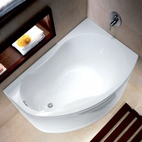 Ванна ассиметричная 150х100 см IFO Rattvik 150 правая BA20150000