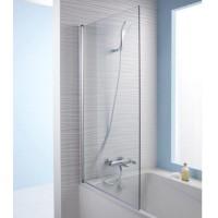 Душевая шторка стеклянная для ванны 140х80 Jacob Delafon STRUKTURA E6D042-GA