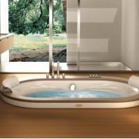 Гидромассажная ванна 190х110см Jacuzzi Opalia Wood 9F43-498A