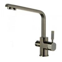 Смеситель для кухни с подключением фильтрованной воды Kaizer Decor 40144-1 темная бронза