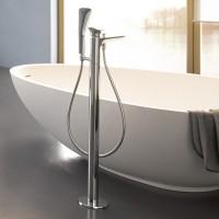 Смеситель для ванны напольный Kludi Ambienta 53590 0575 535900575