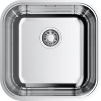 Кухонная мойка Omoikiri Omi 44-U/IF Quadro 4993494 нержавеющая  сталь