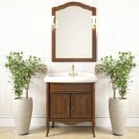 Комплект мебели для ванной комнаты 60см Opadiris Лоренцо светлый орех