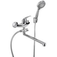 Смеситель для ванны с душем Paini Smile 39CR112P19CAKM хром