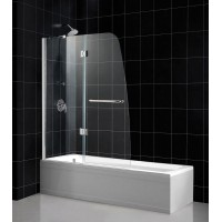 Шторка на ванну распашная RGW Screens SC-13 90х150 прозрачное 01111309-11
