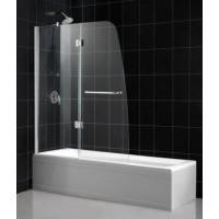 Шторка на ванну распашная RGW Screens SC-13 100х150 прозрачное 01111310-11