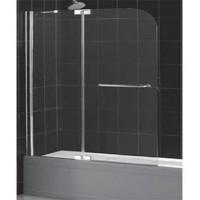 Шторка на ванну распашная маятниковая RGW Screens SC-19 110х150 прозрачное 01111911-11
