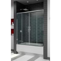 Шторка на ванну раздвижная RGW Screens SC-61 150х150 прозрачное 01116115-11