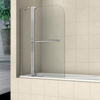 Шторка на ванну распашная маятниковая RGW Screens SC-03 110х150 прозрачное 03110311-11
