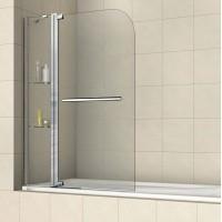 Шторка на ванну распашная маятниковая RGW Screens SC-04 110х150 прозрачное 03110311-11