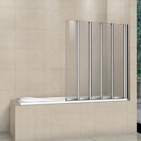 Шторка на ванну складная RGW Screens SC-21 120х150 прозрачное 03112112-11