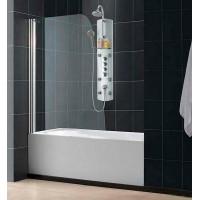 Шторка на ванну распашная маятниковая RGW Screens SC-36 80х150 прозрачное 01113608-11
