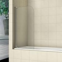Шторка на ванну распашная маятниковая RGW Screens SC-01 90х150 прозрачное 8 мм, 03110109-11