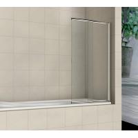 Шторка на ванну распашная маятниковая RGW Screens SC-40 (60-100)х150 прозрачное 03114010-11