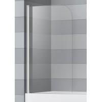 Шторка на ванну распашная маятниковая RGW Screens SC-09 80х150 прозрачное 03110810-11