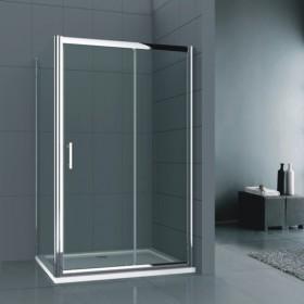 Душевой уголок 90х100 RGW R-B-006 тонированное стекло