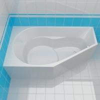 Ванна 160x90см Riho Yukon 160 R/L