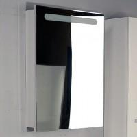 Шкаф подвесной зеркальный с подсветкой 60см Roca Victoria Nord  ZRU9000029 белый петли слева