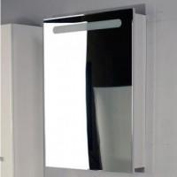 Шкаф подвесной зеркальный с подсветкой 60см Roca Victoria Nord белый ZRU9000030 петли справа