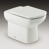 Унитаз приставной Roca Dama Senso Compact 347517000 без сиденья