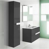 Шкаф-колона Roca Victoria Nord Black Edition ZRU9000095, черный