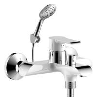 Смеситель для ванны Rossinka Серия W W35-31 белый/хром