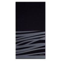 Разделочная доска Schock черное стекло с декором 629050