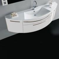 Комплект мебели 160см Stocco Vela белый глянец