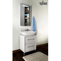 Комплект мебели для ванной Timo Lappi Т-14155 White