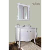 Комплект мебели для ванной Timo Mira Т-19658 White