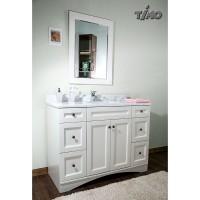 Комплект мебели для ванной Timo Modern Т-19712C White