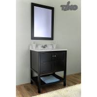Комплект мебели для ванной Timo Ilma Т-19713А Espresso
