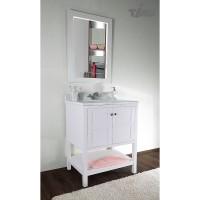 Комплект мебели для ванной Timo Ilma Т-19713А White