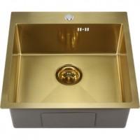 Мойка для кухни Melana ProfLine 5050 золото, врезная D5050HG