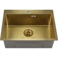 Мойка для кухни Melana ProfLine 6045 золото, врезная D6045HG