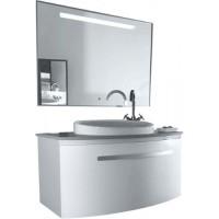 Комплект мебели для ванной 100см Timo Saimaa T-18029 W Белая