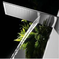 Верхний душ с водопадом настенный TRES Showers 29990301 299.903.01