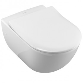 Унитаз подвесной Villeroy & Boch Subway 6600 1001 + 9M65 S101 Slimseat SoftClose