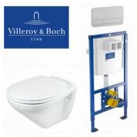Унитаз подвесной Villeroy & Boch Omnia Classic 7682 1001 SoftClose + инсляция Villeroy & Boch