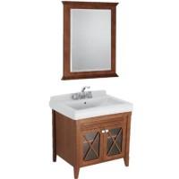 Комплект мебели 75см с зеркалом Villeroy & Boch Hommage 89950001 + 85650000