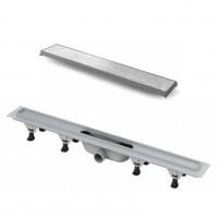 Дренажный канал с лотком для укладки плитки 700мм Vicario DP-700-DS3