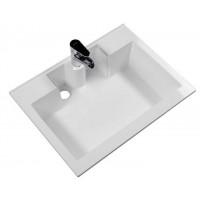 Раковина-столешница накладная для ванной комнаты Aquanet Фортуна 70 см 00182523