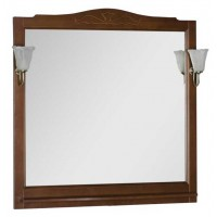 Зеркало Aquanet Амелия 100 орех 00175289