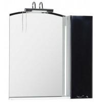 Зеркало-шкаф Aquanet Асти 85 черный 00178244