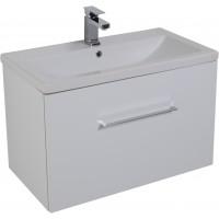 Тумба под раковину Aquanet Порто 80 подвесная для ванной комнаты белый 00195731