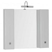 Зеркало-шкаф для ванной комнаты Aquanet Стайл 105 белый 00181507