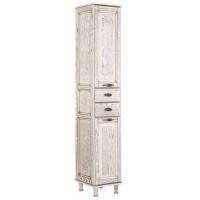 Шкаф-пенал для ванной комнаты напольный Aquanet Тесса 35 жасмин/сандал 00185812