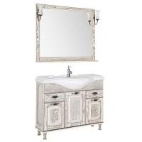 Комплект мебели для ванной комнаты Aquanet Тесса 105 жасмин/сандал 00186377
