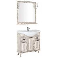 Комплект мебели для ванной комнаты Aquanet Тесса 85 жасмин/сандал 00186380
